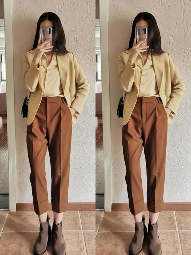 Nàng công sở muốn mặc đẹp đừng bỏ qua 14 công thức diện quần này, toàn combo chuẩn xịn từ hội gái Pháp - Ảnh 3.