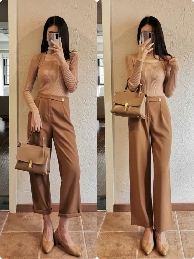 Nàng công sở muốn mặc đẹp đừng bỏ qua 14 công thức diện quần này, toàn combo chuẩn xịn từ hội gái Pháp - Ảnh 7.