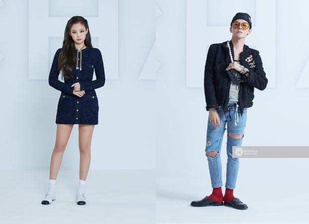 Soi mạnh style cặp đôi GD - Jennie: Cùng là tắc kè hoa của Chanel, lộ hint hẹn hò từ cách dùng phụ kiện - Ảnh 2.