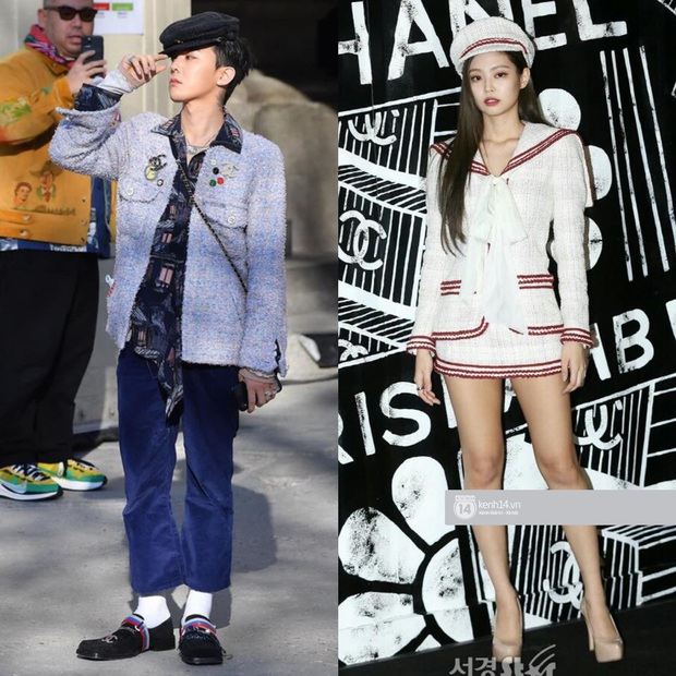Soi mạnh style cặp đôi GD - Jennie: Cùng là tắc kè hoa của Chanel, lộ hint hẹn hò từ cách dùng phụ kiện - Ảnh 4.