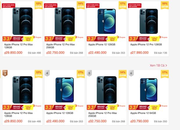 Thị trường iPhone đầu năm trên các sàn thương mại điện tử cực kỳ sôi động, nhưng có rẻ hơn mua ở đại lý bán lẻ? - Ảnh 1.