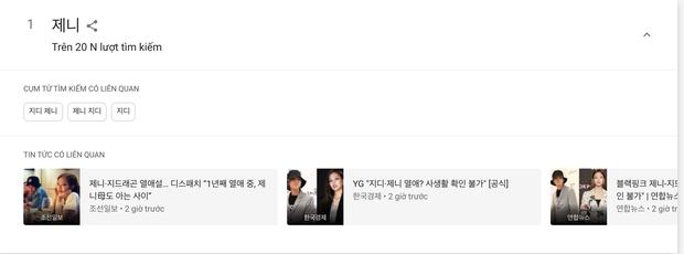 Tin hẹn hò của G-Dragon và Jennie ngay lập tức thống trị các bảng tìm kiếm trên toàn thế giới, từ Google, Naver đến Weibo - Ảnh 3.