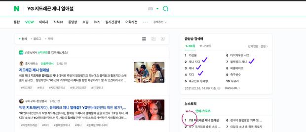 Tin hẹn hò của G-Dragon và Jennie ngay lập tức thống trị các bảng tìm kiếm trên toàn thế giới, từ Google, Naver đến Weibo - Ảnh 5.