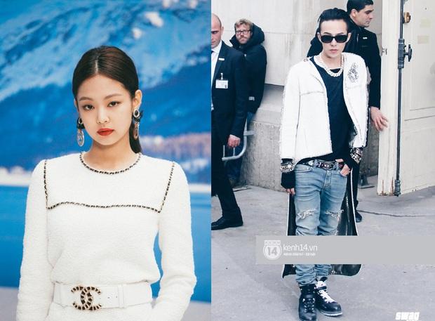 Soi mạnh style cặp đôi GD - Jennie: Cùng là tắc kè hoa của Chanel, lộ hint hẹn hò từ cách dùng phụ kiện - Ảnh 3.