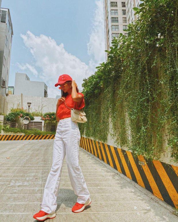 Instagram look sao Việt: Minh Hằng xinh ngút ngàn với váy local brand, Tóc Tiên lên đồ sành điệu - Ảnh 4.