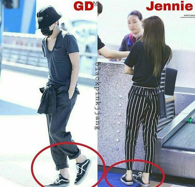 Mua sneaker đạp gót giống Jennie cho trendy, biết đâu lại có người yêu chất như GD - Ảnh 2.