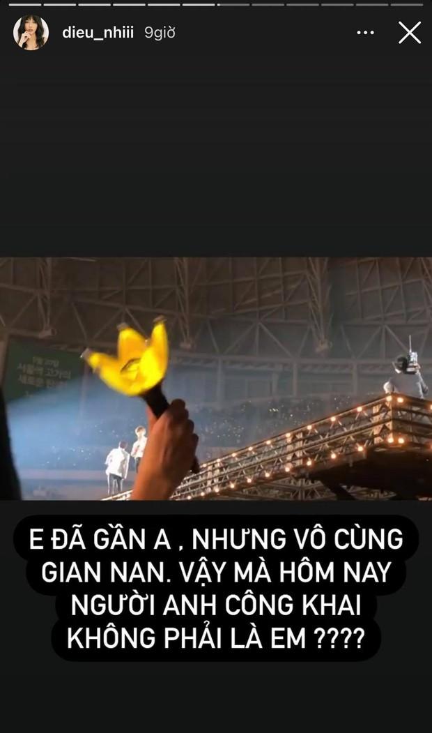"""Diệu Nhi tung 7749 khoảnh khắc """"đu idol"""" cực lầy, quyết không thừa nhận chuyện G-Dragon đang hẹn hò Jennie! - Ảnh 6."""