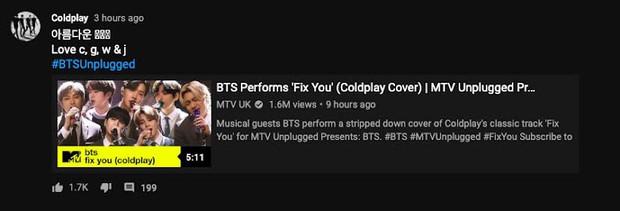 BTS được khen nức nở khi cover bản hit huyền thoại của Coldplay, chính chủ nổi tiếng khó tính cũng phản ứng bất ngờ - Ảnh 4.