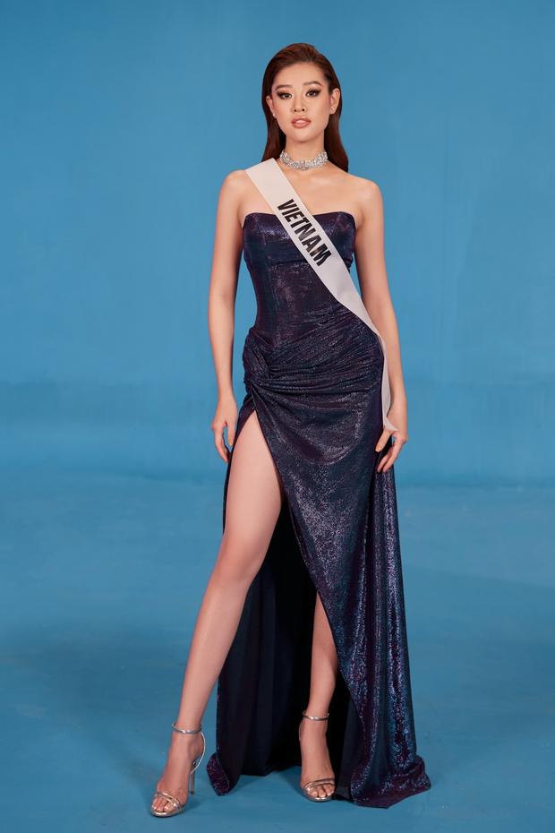 Hoa hậu Khánh Vân mang áo dài, đồ bảo hộ vào hình hiệu Road To Miss Universe 2020 - Ảnh 4.