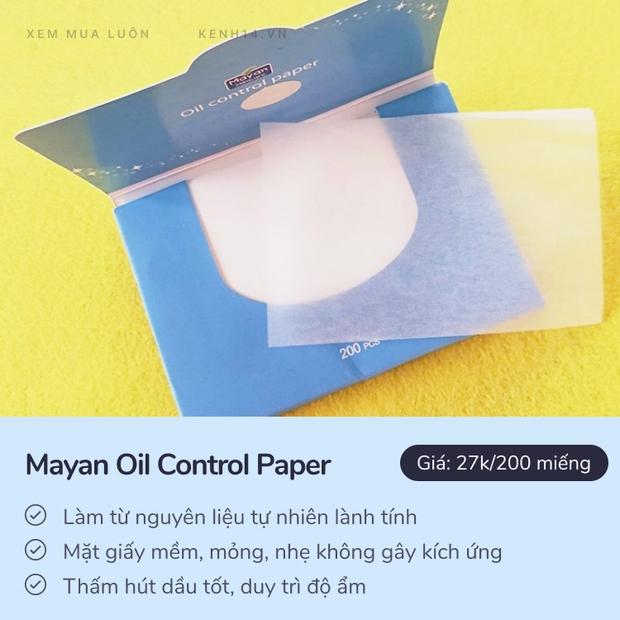 Đã mua giấy thấm dầu thì bạn phải chọn 5 loại này: Hút dầu đỉnh, makeup vẫn xài vô tư - Ảnh 6.