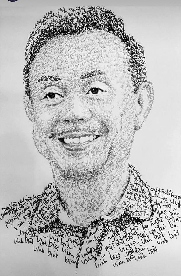 Anh chàng hoạ sĩ hot TikToker vẽ tặng bố Hoài Linh, sau 1 ngày thu về lượt view và tương tác siêu khủng - Ảnh 9.