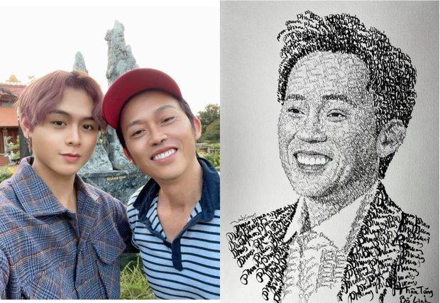 Anh chàng hoạ sĩ hot TikToker vẽ tặng bố Hoài Linh, sau 1 ngày thu về lượt view và tương tác siêu khủng - Ảnh 5.