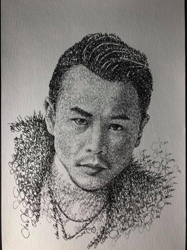 Anh chàng hoạ sĩ hot TikToker vẽ tặng bố Hoài Linh, sau 1 ngày thu về lượt view và tương tác siêu khủng - Ảnh 11.
