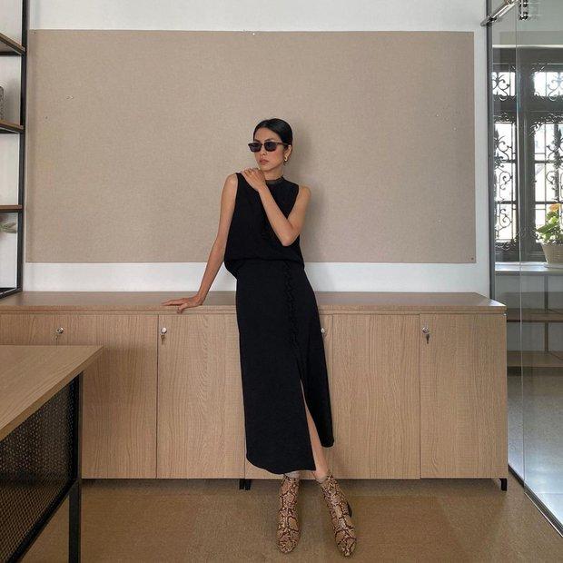 Làm dâu nhà hào môn nhưng Hà Tăng chỉ mê diện lại giày cũ, nể nhất là mỗi lần lại một style khác biệt - Ảnh 1.