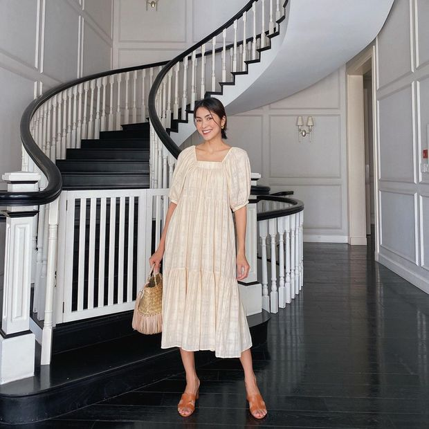 Làm dâu nhà hào môn nhưng Hà Tăng chỉ mê diện lại giày cũ, nể nhất là mỗi lần lại một style khác biệt - Ảnh 5.