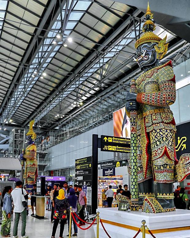 Gần 2 năm không được đi Thái, bạn có còn nhớ sân bay của quê hương thứ 2 trông như thế nào? - Ảnh 6.