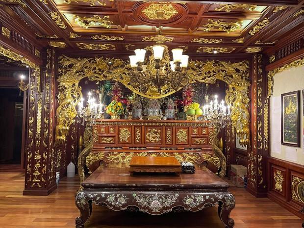 Biệt thự 7 tầng của đại gia ngành sắt Việt giàu lên từ thu mua sắt vụn: Độ hoành tráng sánh ngang lâu đài, tổng giá trị cỡ 300 tỷ - Ảnh 14.