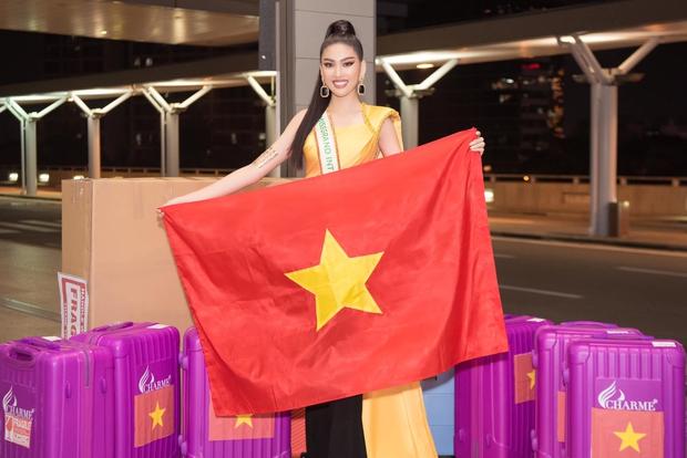 """Á hậu Ngọc Thảo lên đường đến Thái Lan dự Hoa hậu Hoà Bình Thế Giới 2020, vừa ra quân đã gây sốt với sắc vóc """"đỉnh chóp"""" - Ảnh 2."""
