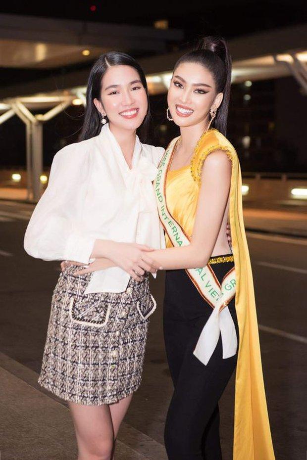"""Á hậu Ngọc Thảo lên đường đến Thái Lan dự Hoa hậu Hoà Bình Thế Giới 2020, vừa ra quân đã gây sốt với sắc vóc """"đỉnh chóp"""" - Ảnh 5."""