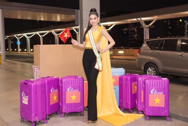 """Á hậu Ngọc Thảo lên đường đến Thái Lan dự Hoa hậu Hoà Bình Thế Giới 2020, vừa ra quân đã gây sốt với sắc vóc """"đỉnh chóp"""" - Ảnh 4."""