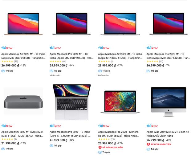 Mua MacBook trên các sàn thương mại điện tử, khuyến mãi giảm nhiều nhưng có rẻ hơn tại các cửa hàng bán lẻ? - Ảnh 4.