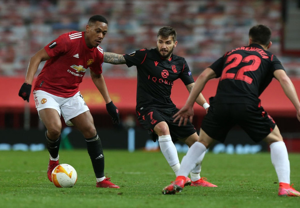 MU thoát thua trên sân nhà trước Real Sociedad - Ảnh 1.