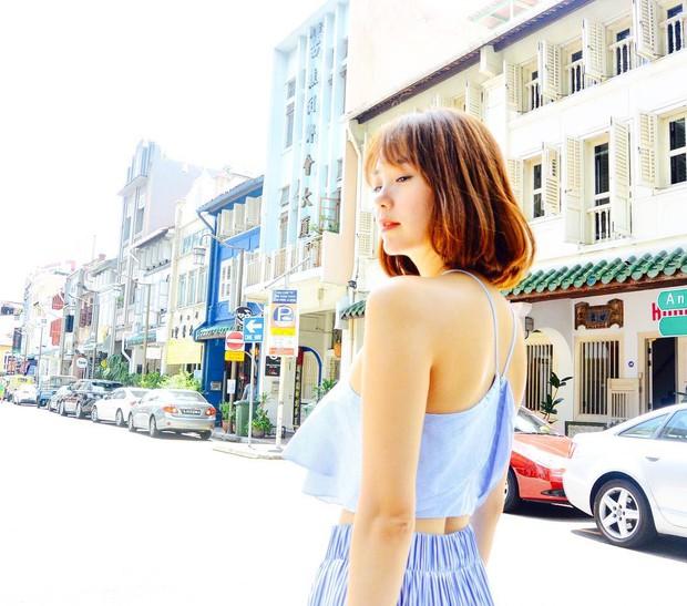Những màn đổi tóc xuất thần của Minh Hằng: Tóc tém, tóc bob hay tóc dài đều xinh đáo để - Ảnh 2.