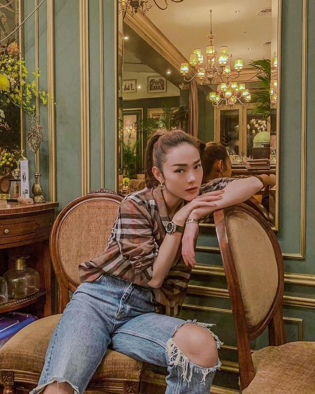 Những màn đổi tóc xuất thần của Minh Hằng: Tóc tém, tóc bob hay tóc dài đều xinh đáo để - Ảnh 19.