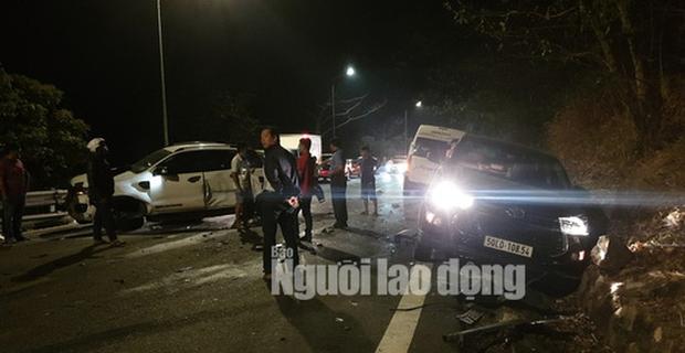 Tai nạn liên hoàn trên đèo Bảo Lộc, nhiều người bị thương - Ảnh 4.