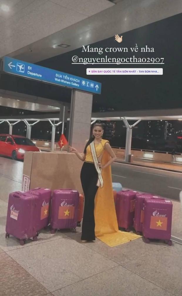 """Á hậu Ngọc Thảo lên đường đến Thái Lan dự Hoa hậu Hoà Bình Thế Giới 2020, vừa ra quân đã gây sốt với sắc vóc """"đỉnh chóp"""" - Ảnh 6."""