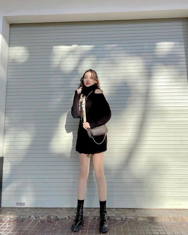 Hot girl trứng rán tiết lộ có đôi chân dài đến 1m13, thế này là ăn đứt cả siêu mẫu Thanh Hằng rồi - Ảnh 2.