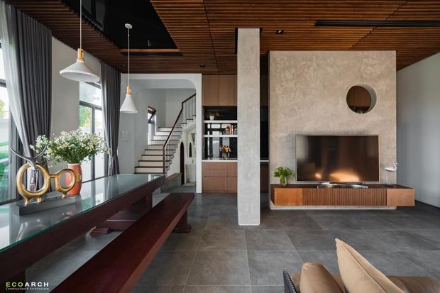 Biệt thự Vinhomes làm nội thất hết gần 1 tỷ, không gian đơn giản thoáng đãng chill hết biết - Ảnh 2.