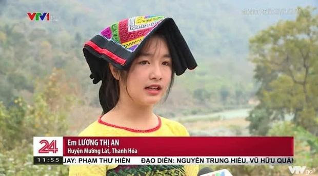 Gái xinh vùng cao xuất hiện trong bản tin thời sự khiến netizen phục êkip chương trình: Chọn khéo thật! - Ảnh 2.