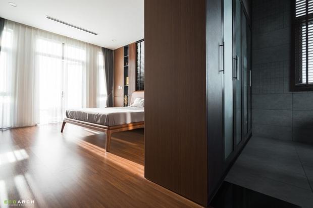 Biệt thự Vinhomes làm nội thất hết gần 1 tỷ, không gian đơn giản thoáng đãng chill hết biết - Ảnh 9.