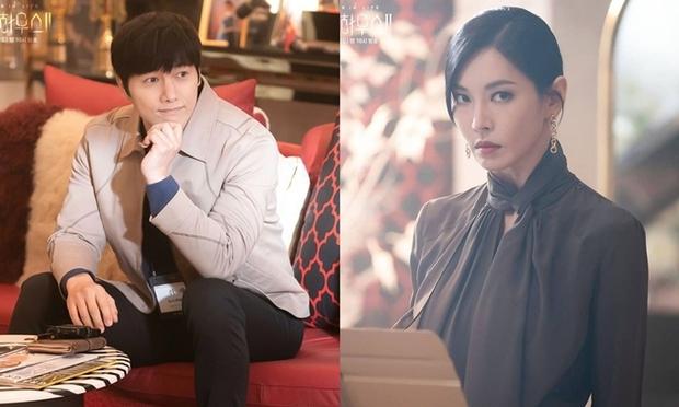 """Ai ngờ ác nữ Kim So Yeon lại gặp chồng thật ngoài đời trong chính phim Penthouse, hé lộ cảm xúc khó nói khi """"đụng độ"""" - Ảnh 2."""