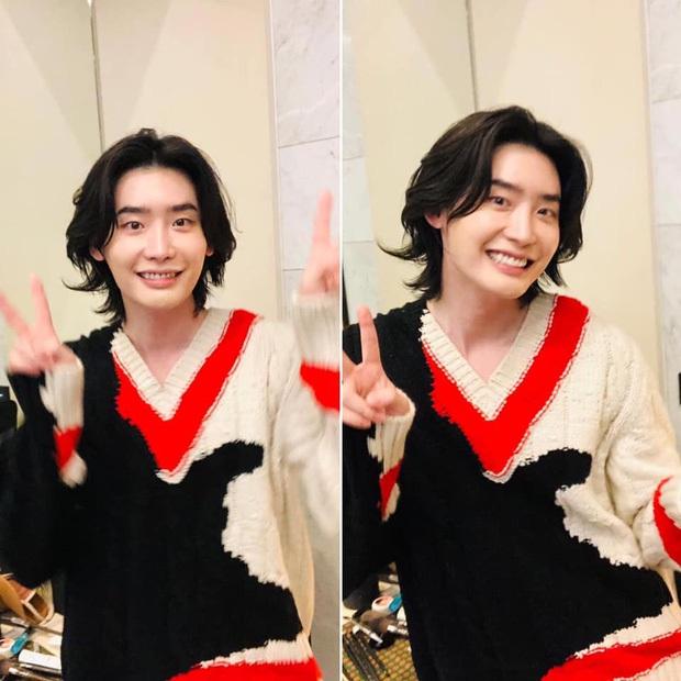 Lee Jong Suk tóc dài lãng tử quá, khoe visual mong manh đến siêu thực làm fangirl bị quật cực mạnh - Ảnh 7.