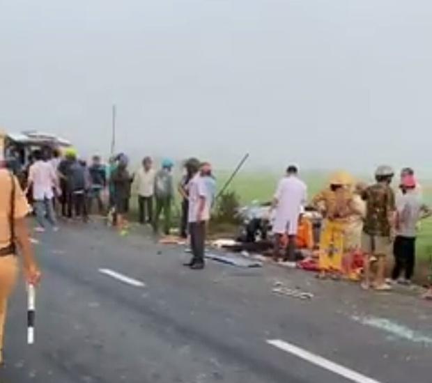 Tai nạn nghiêm trọng ở Bạc Liêu: 1 người tử vong, 7 người bị thương - Ảnh 2.