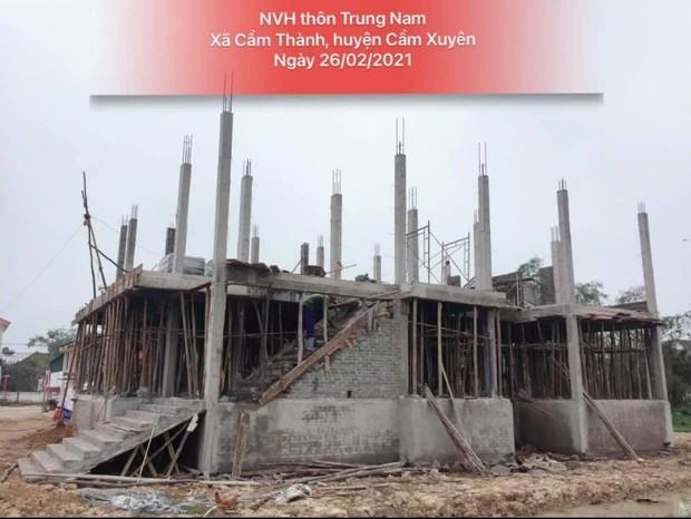 Thuỷ Tiên công bố hình ảnh xây dựng 10 nhà chống lũ cho bà con miền Trung, kinh phí trích từ quỹ từ thiện 177 tỷ đồng - Ảnh 4.