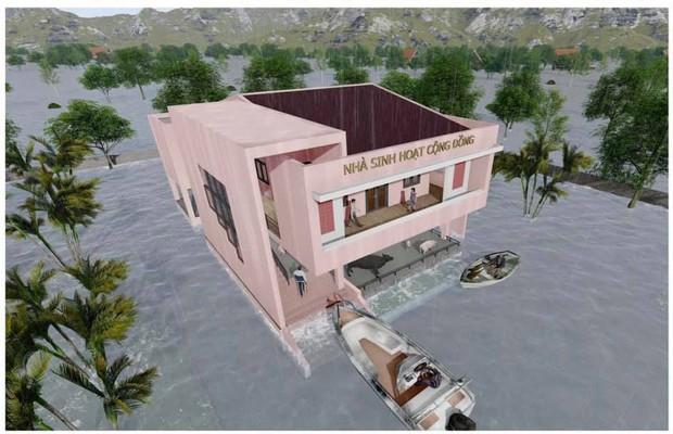 Thuỷ Tiên công bố hình ảnh xây dựng 10 nhà chống lũ cho bà con miền Trung, kinh phí trích từ quỹ từ thiện 177 tỷ đồng - Ảnh 2.