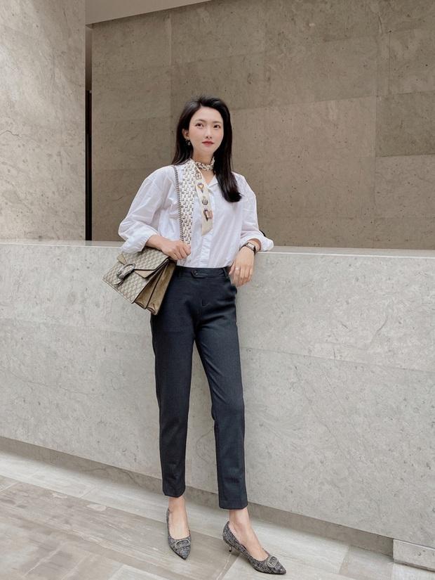 Street style Châu Á: Nhiều màu sắc xuống phố nhưng bất ngờ nhất là màn khoe eo mỏng dính của cô nàng váy cam - Ảnh 1.