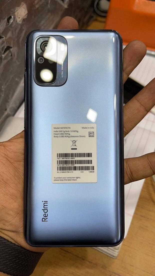 Đây là Redmi Note 10: Thiết kế giống Mi 10T, màn hình AMOLED, Snapdragon 768, ra mắt ngày 4/3 - Ảnh 2.