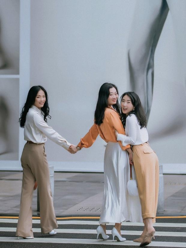 Street style Châu Á: Nhiều màu sắc xuống phố nhưng bất ngờ nhất là màn khoe eo mỏng dính của cô nàng váy cam - Ảnh 12.