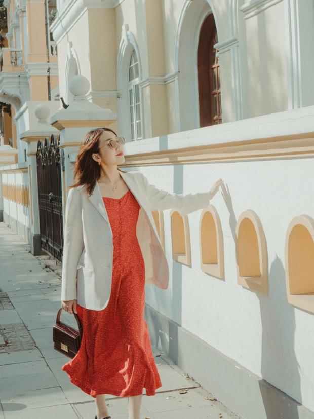 Street style Châu Á: Nhiều màu sắc xuống phố nhưng bất ngờ nhất là màn khoe eo mỏng dính của cô nàng váy cam - Ảnh 15.