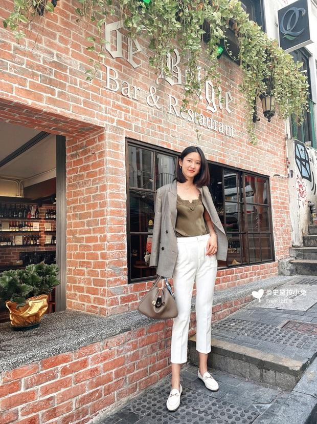 Street style Châu Á: Nhiều màu sắc xuống phố nhưng bất ngờ nhất là màn khoe eo mỏng dính của cô nàng váy cam - Ảnh 8.