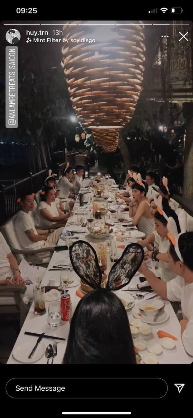 Ngô Thanh Vân công khai kề cận Huy Trần, ra mắt Xuân Lan - Jun Phạm và hội bạn sao Vbiz trong tiệc sinh nhật hoành tráng - Ảnh 6.