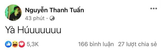 HOT: JustaTee thông báo vợ đẻ, netizen ào ào gửi lời chúc mừng - Ảnh 3.