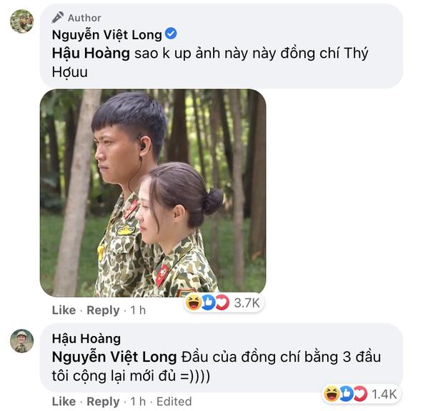 Mũi trưởng Long đăng ảnh sinh nhật 27 tuổi, Hậu Hoàng xuất hiện trong phút mốt: Chúc đồng chí sẽ có được tôi - Ảnh 3.