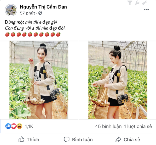 Đến lượt Cẩm Đan - gái đẹp 2k2 check in Đà Lạt, đi cùng ai mà thả thính ngọt thế này? - Ảnh 3.