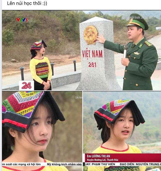 Gái xinh vùng cao xuất hiện trong bản tin thời sự khiến netizen phục êkip chương trình: Chọn khéo thật! - Ảnh 1.