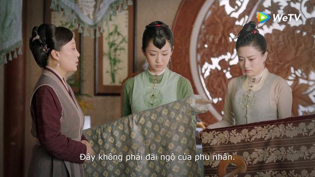Trà xanh Cẩm Tâm Tựa Ngọc giở trò chèn ép liền bị vợ cả Đàm Tùng Vận bật lại, còn được Chung Hán Lương dạy cho 5 bài học đến khóc thét - Ảnh 7.